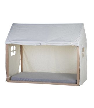 Childhome Tipi Bedframe Cover 90x200cm Wit