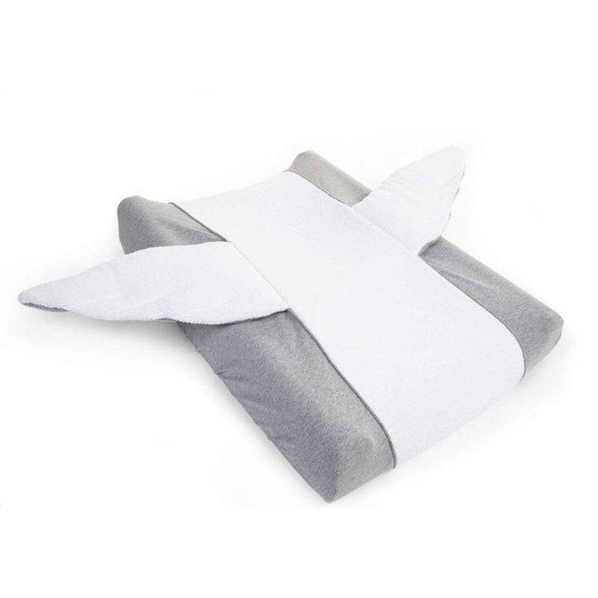 Waskussenhoes Angel Jersey Grey