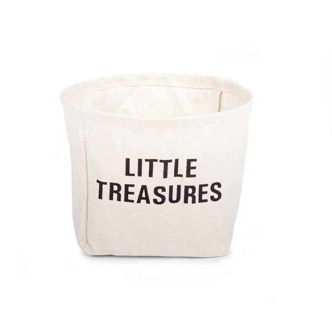 """Katoenen mand """"Little Treausers"""""""