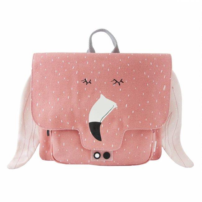 Trixie Baby Kleuterboekentasje Mrs. Flamingo   Trixie Baby