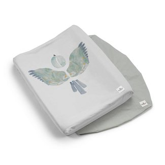 Elodie Details Aankleedkussenhoes Watercolor Wings (set van 2)