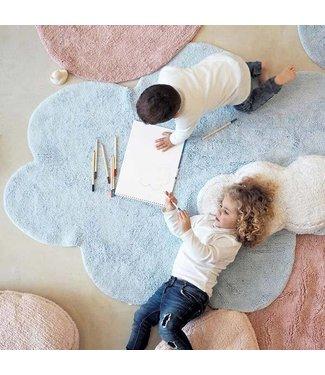 Lorena Canals Tapijt Puffy Dream Blauw 110x170cm