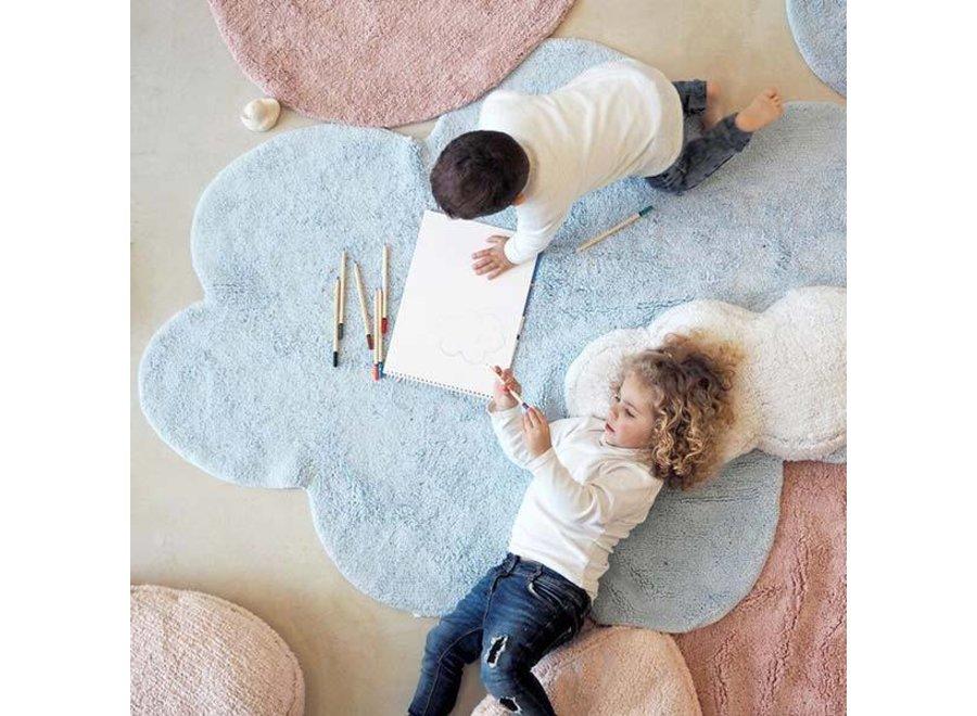 Tapijt Puffy Dream Blauw 110x170cm