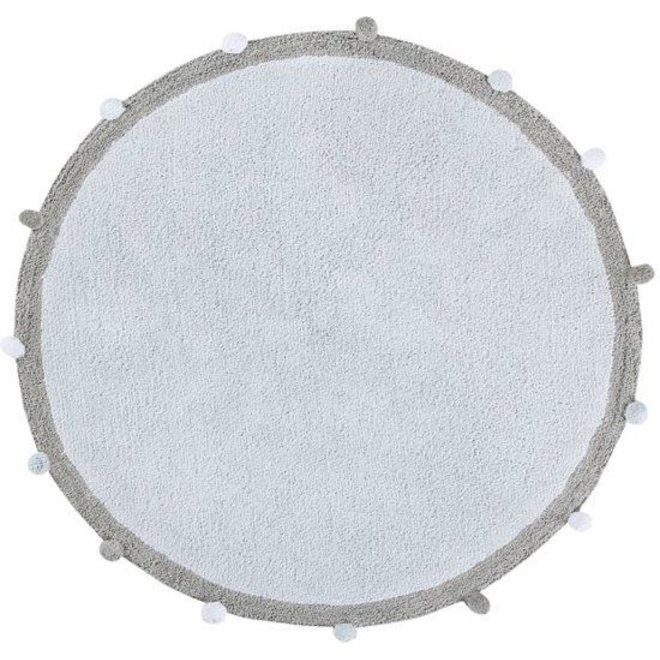 Tapijt Bubbly Soft Blauw Ø120cm