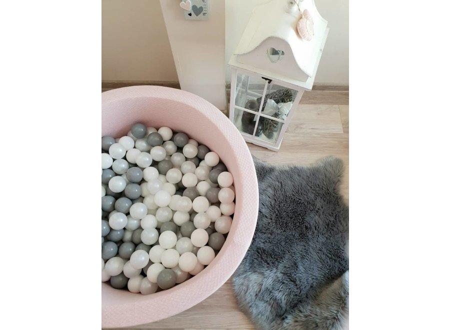Ballenbad Quitled Pink XL + 200 ballen | MiiiMi