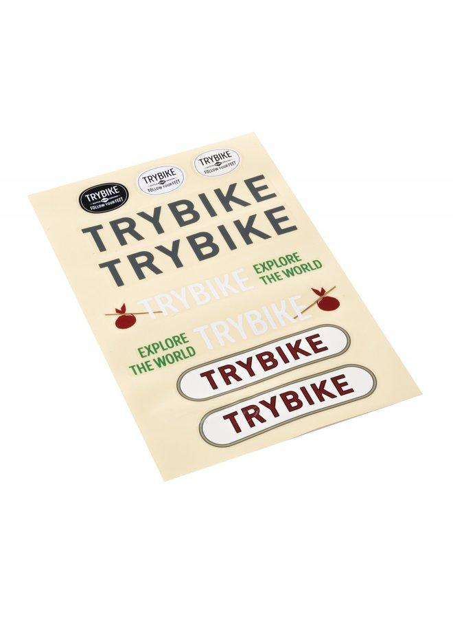 Trybike Steel loopfiets - Vintage Pink   Trybike