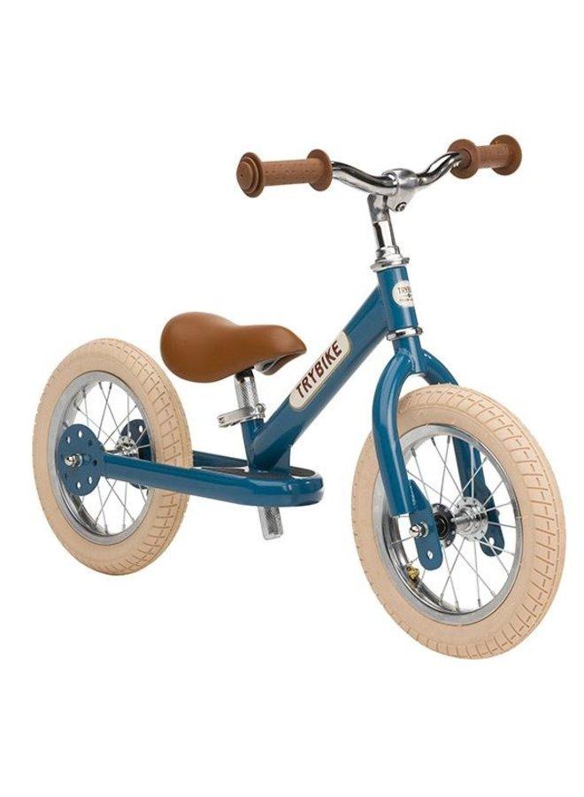 Trybike Steel loopfiets - Vintage Blue   Trybike