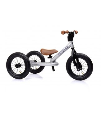 Trybike Trybike  Steel 2-1 loopfiets - Silver | Trybike
