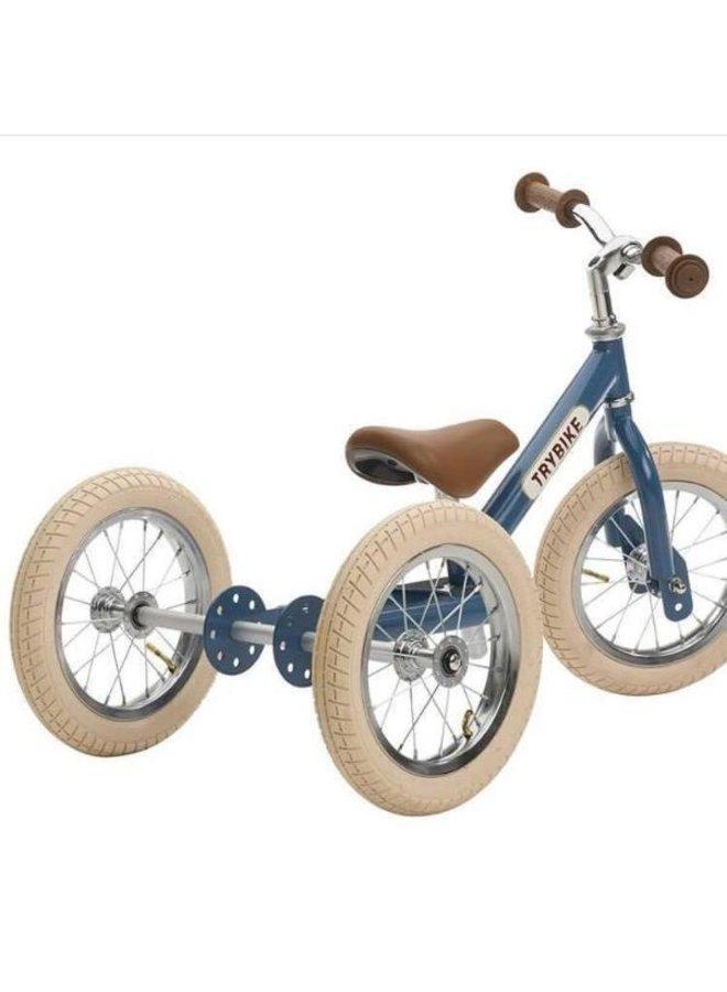 Trybike  Steel 2-1 loopfiets Vintage Blue | Trybike