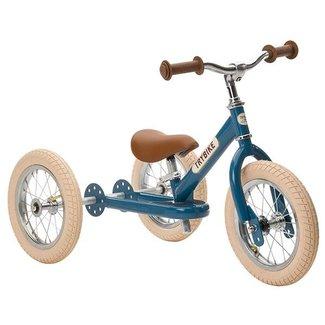 Trybike Trybike  Steel 2-1 loopfiets Vintage Blue | Trybike