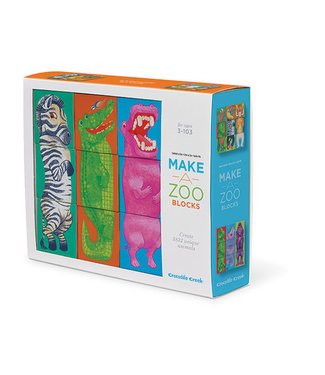 Crocodile Creek Blokken Puzzel - Make a Zoo