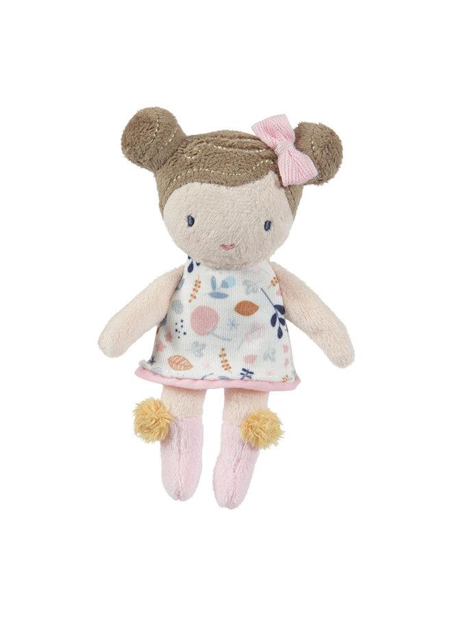 Knuffelpop Rosa - 10 cm
