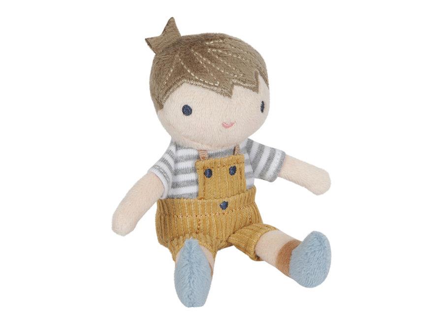 Knuffelpop Jim - 10 cm