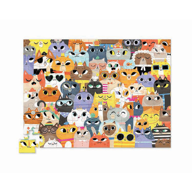 Lots of Cats - Puzzel 72st