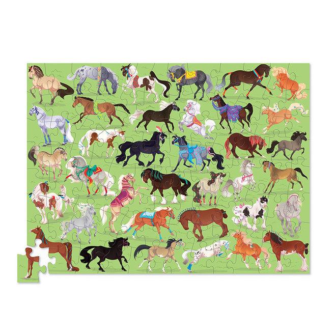 36 Paarden - Puzzel 100 st