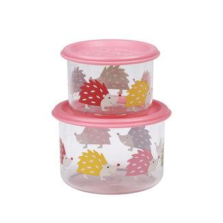 SugarBooger Snackdoosjes (set van 2) – Hedgehog