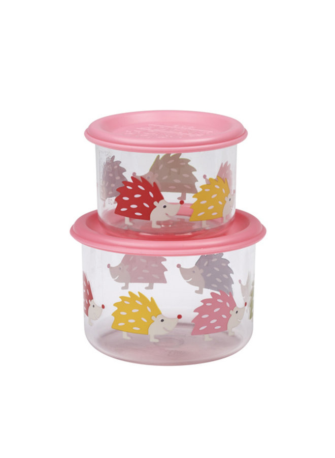 Snackdoosjes (set van 2) – Hedgehog