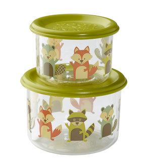 SugarBooger Snackdoosjes (set van 2) – What did the Fox eat