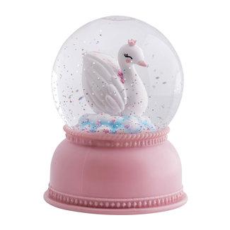 A Little Lovely Company Nachtlampje Sneeuwbol – Zwaan