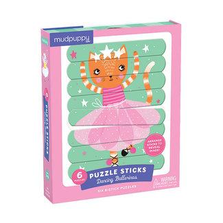 Mudpuppy Puzzel Sticks – Dancing Ballerinas