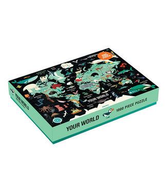 Mudpuppy Your world – Puzzel 1000st