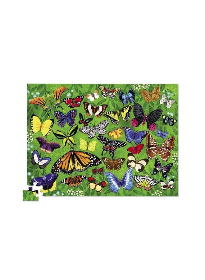 36 Vlinders – Puzzel 100st
