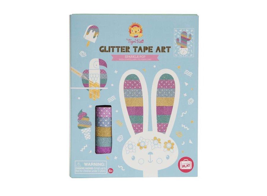 Glitter Tape Art – Sparkle  Pop