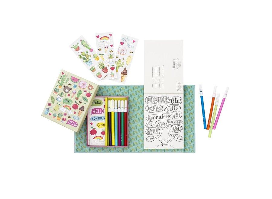 Postcard Kit – Hello