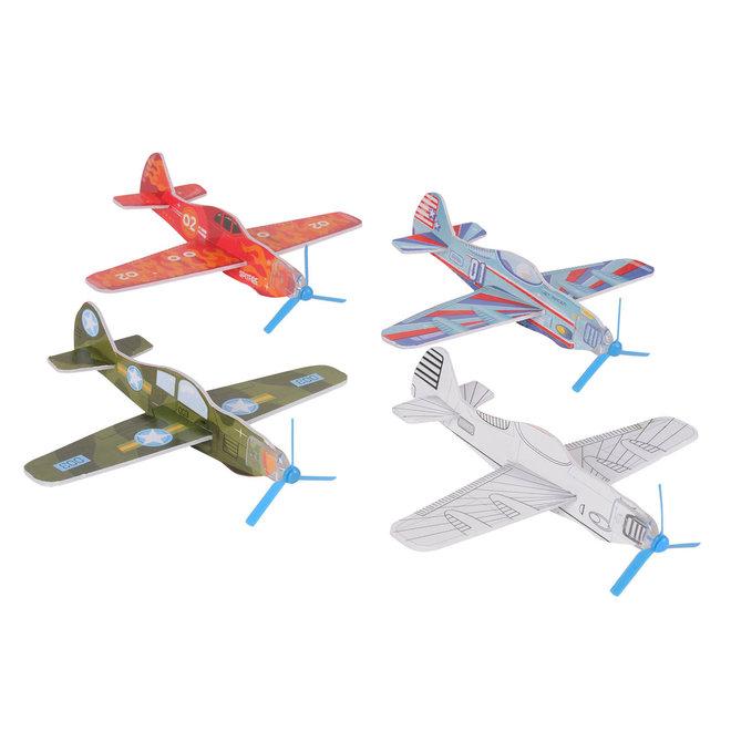 Knutselset Vliegtuigen - Squadron Racers