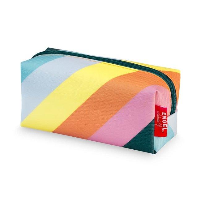 Pennenzak / Toilettas 'Stripe Rainbow'   Engel
