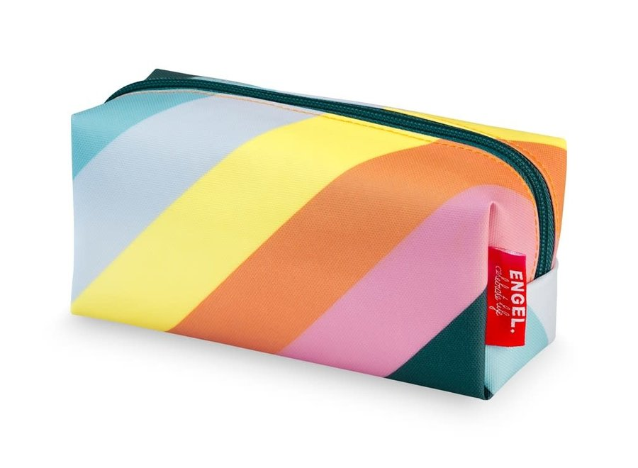 Pennenzak / Etui 'Stripe Rainbow'