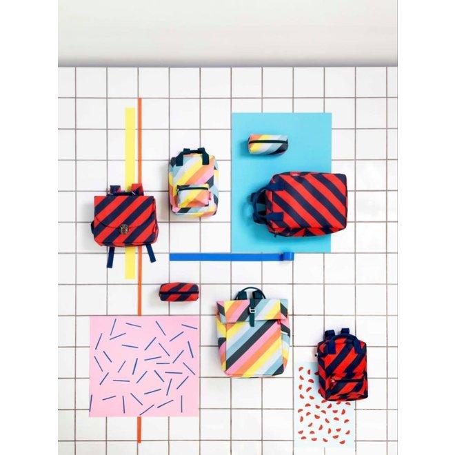 Pennenzak / Toilettas  'Stripe Navy' | Engel