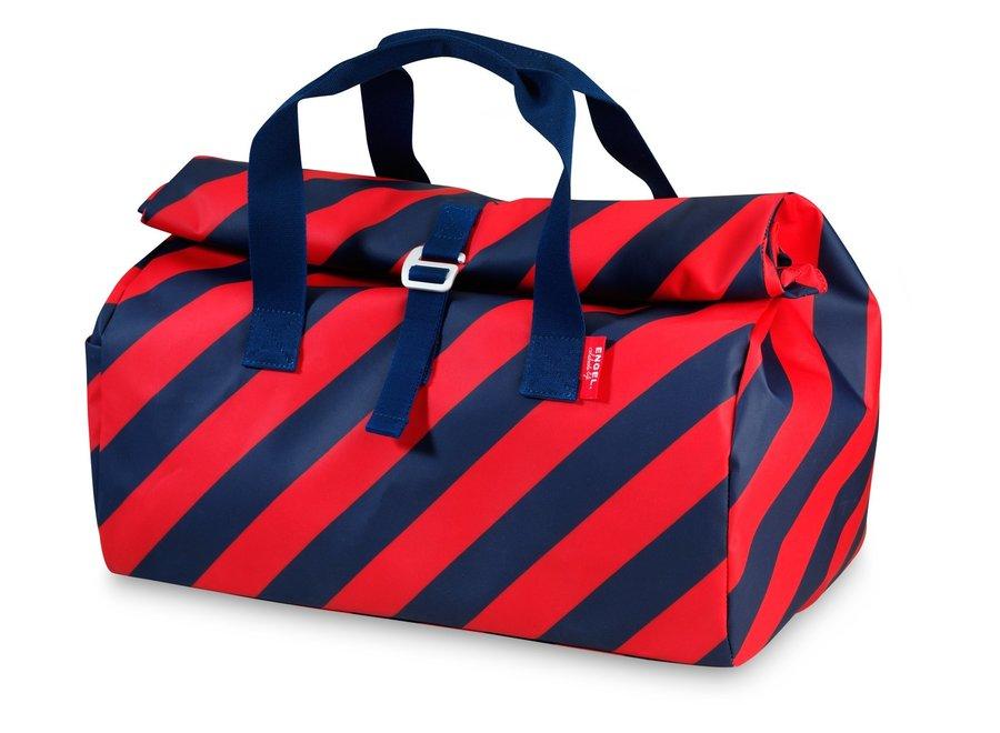 Weekendtas / Sporttas Flip 'Stripe Navy'