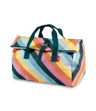 Engel. Weekendtas / Sporttas Flip 'Stripe Rainbow'