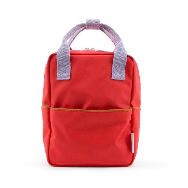 Rugzak Corduroy small – Sporty Red