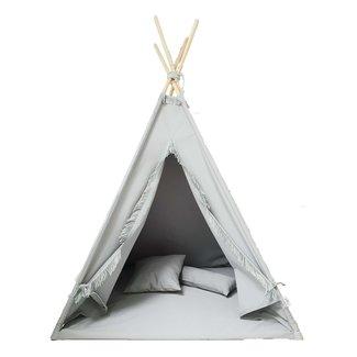 MiiiMi Tipi Tent Grijs met vloermatras | Miiimi