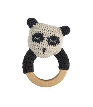Sebra Gehaakte rammelaar Panda