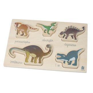 Sebra Houten inlegpuzzel Dinosaurussen