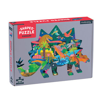 Mudpuppy Shaped Puzzel Dinosaurus – 300st