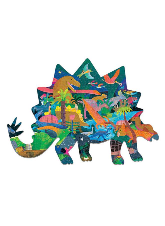 Shaped Puzzel Dinosaurus – 300st