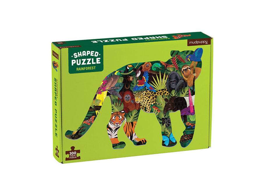 Shaped Puzzel Regenwoud – 300st