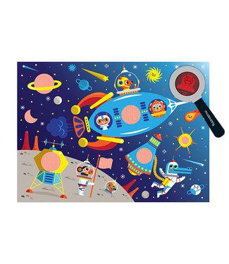 Mudpuppy Secret Picture Puzzel – Outer Space 42st