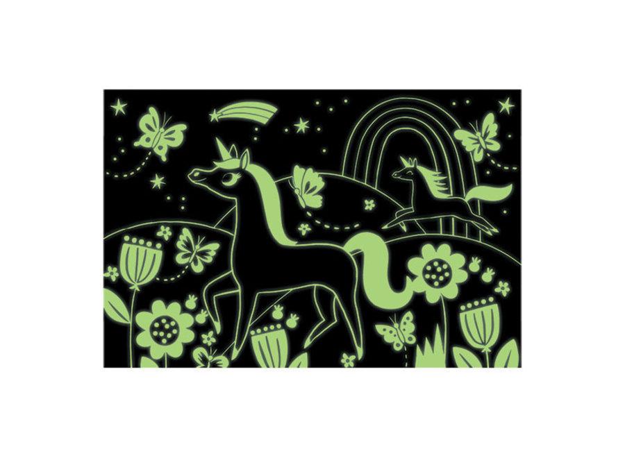 Puzzel Glow in the Dark Unicorns – 100st