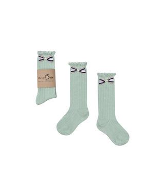 Mama's Feet Kniekousjes – Minty Princess