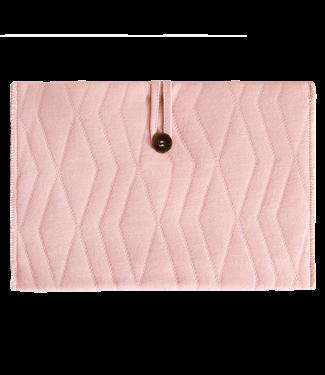 House of Jamie Luieretui Powder Pink – Geometry Jacquard