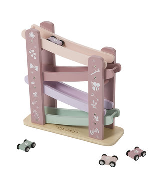 Little Dutch Houten Autobaan Roze | Little Dutch