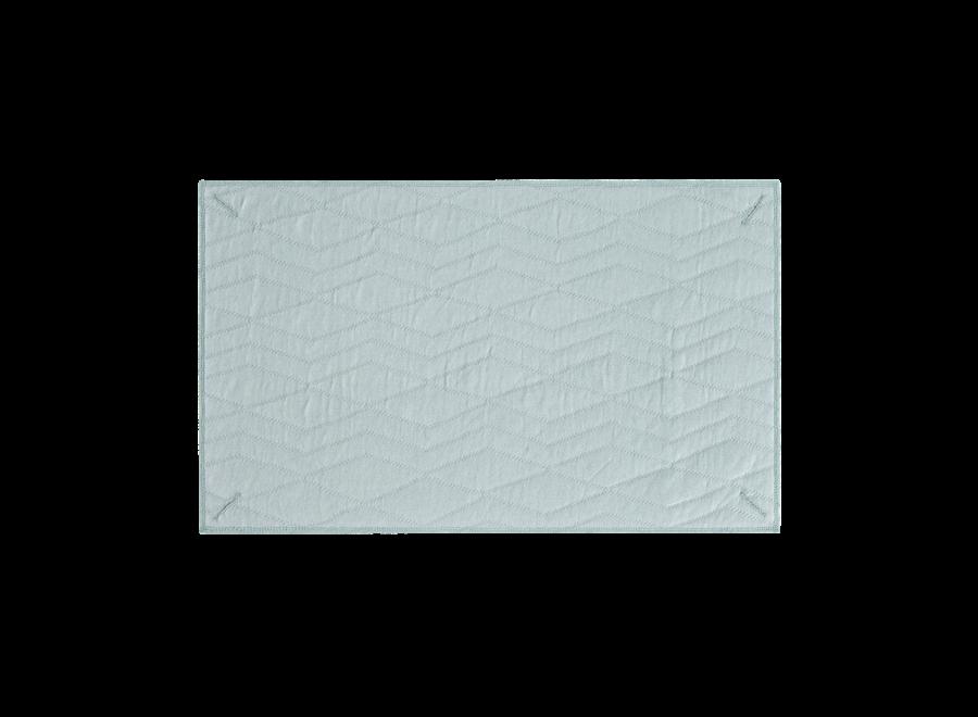 Aankleedkussenhoes Jade Green – Geometry Jacquard