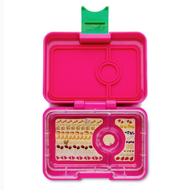 Yumbox Mini Snack – Cherrie Pink