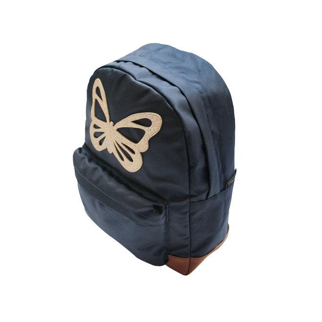 Rugzak Large Vlinder Blauw