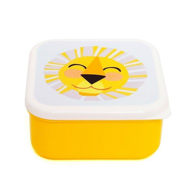 Snackdoosjes Shiny Lion (set van 3)